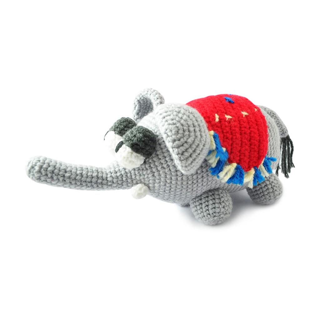 Knit Amigurumi Elephant : Gray Elephants Handmade Amigurumi Stuffed Toy Knit Crochet ...
