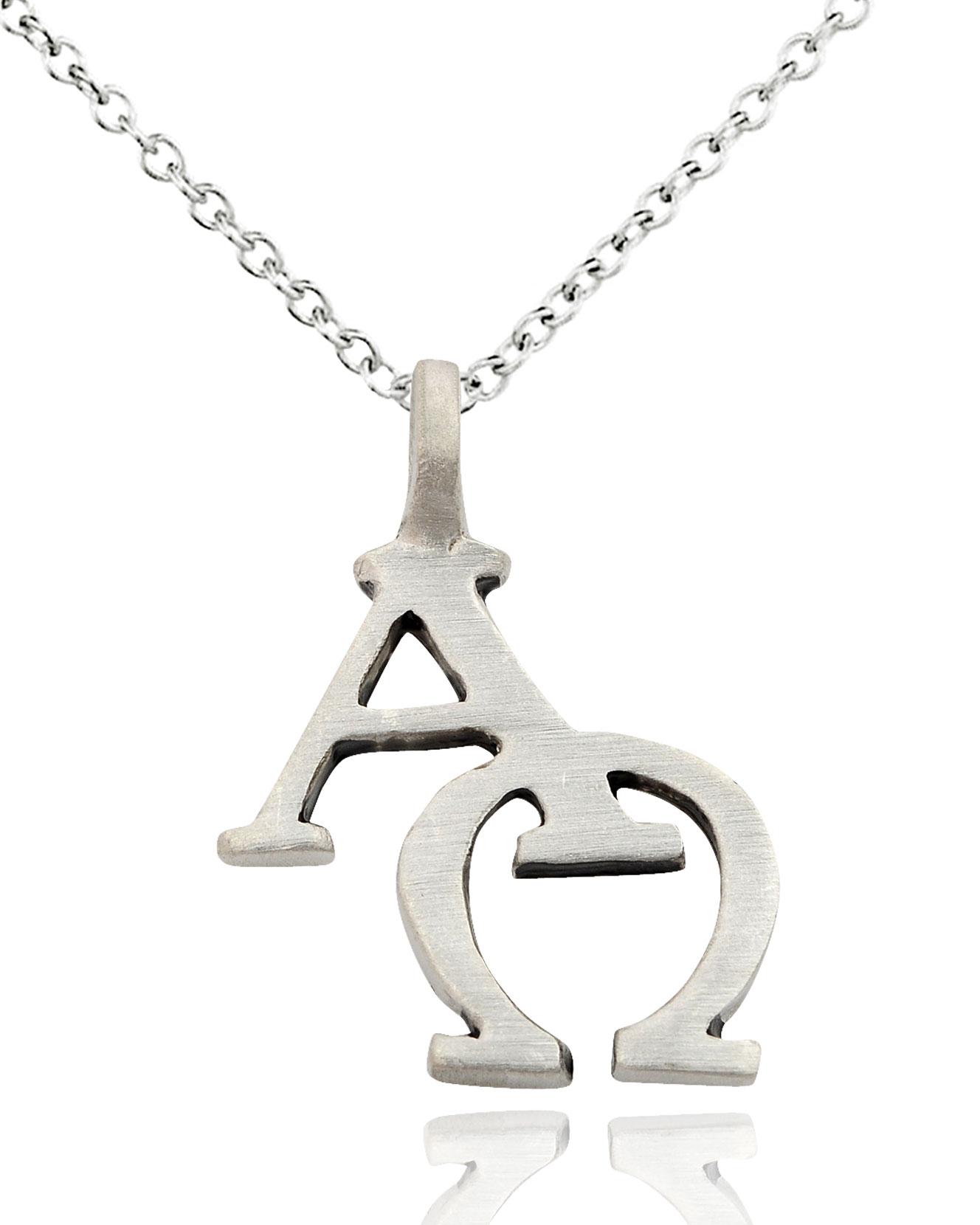 Alpha omega silver pewter charm necklace pendant jewelry ebay alpha omega silver pewter charm necklace pendant jewelry mozeypictures Gallery
