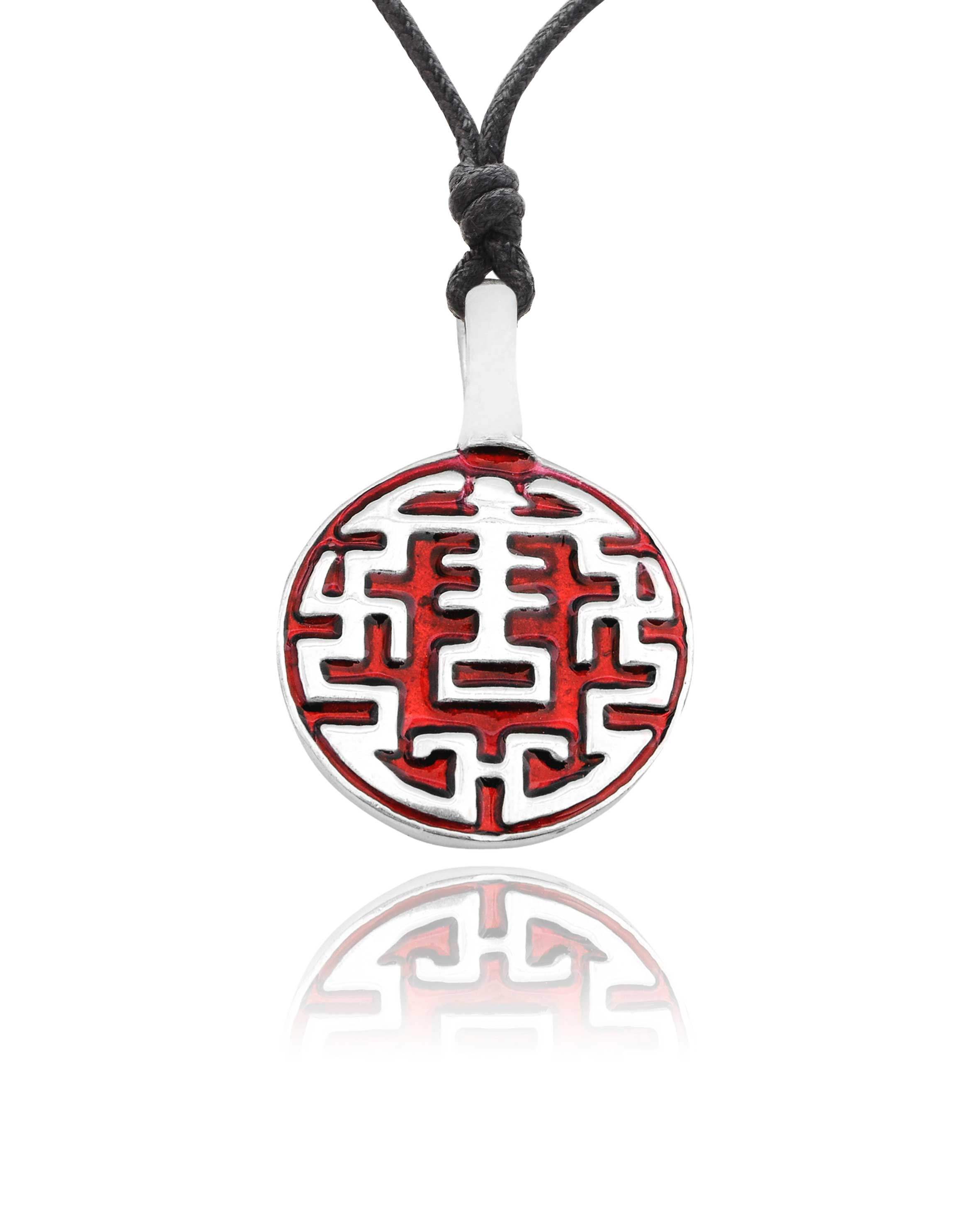 Chinese lucky design silver pewter charm necklace pendant jewelry ebay chinese lucky design silver pewter charm necklace pendant aloadofball Choice Image